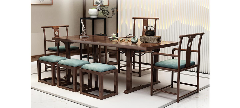 中式风格-茶台
