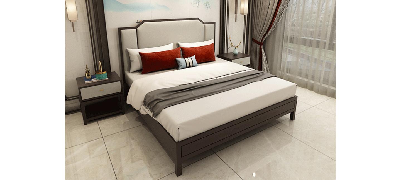 中式风格-床