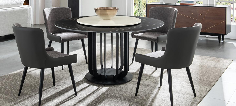 现代风格-餐桌餐椅