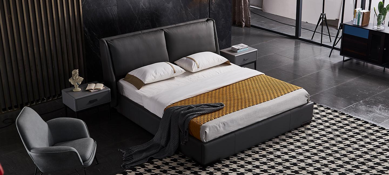 现代风格-床